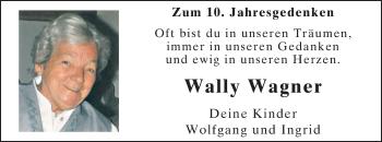 Zur Gedenkseite von Wally