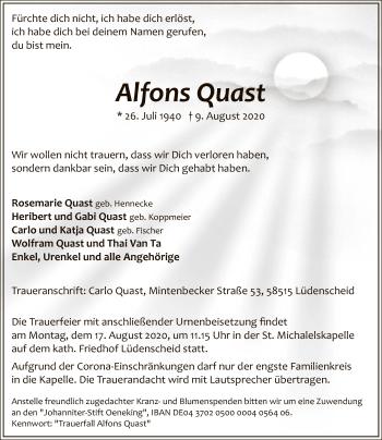 Alfons Quast