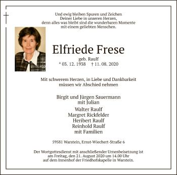 Elfriede Frese