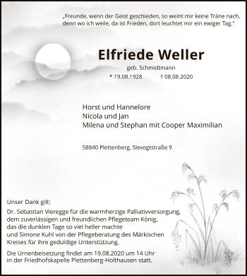 Elfriede Weller