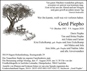 Gerd Piepho