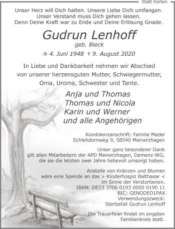 Gudrun Lenhoff